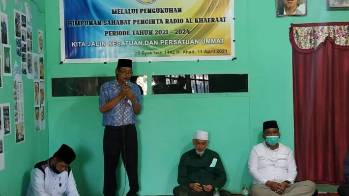 Pengukuhan Himpunan Sahabat Pecinta Radio Al Khaerat Kota Palu