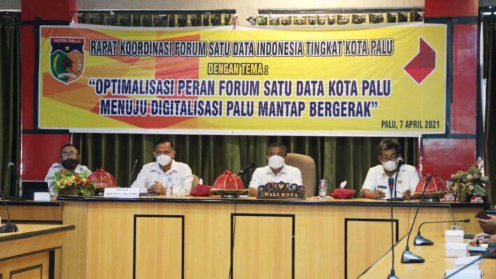 Optimalisasi Kinerja Forum Satu Data Indonesia Tingkat Kota Palu