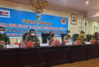 Rapat Evaluasi Rehabilitasi dan Rekonstruksi Pasca Bencana