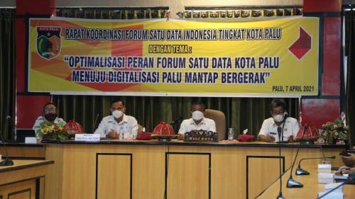 Rapat Koordinasi Forum Satu Data